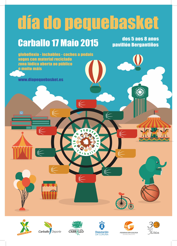 cartel pequebasket 2015