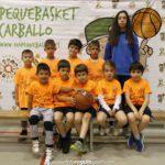 VII Día do Pequebasket 2019 en Carballo Sarria Laranxa Foto: Foto Regalo Sport www.fotoregalosport.com